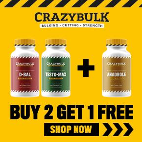 Crazy Bulk Buy 2 Get 1 Free