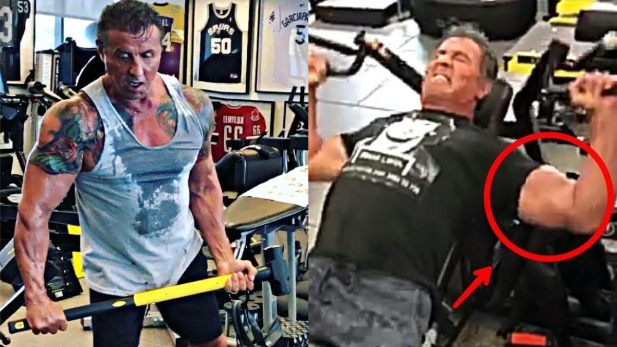 Sylvester Stallone Bodybuilding
