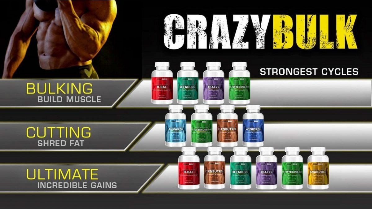 Crazy Bulk Supplements