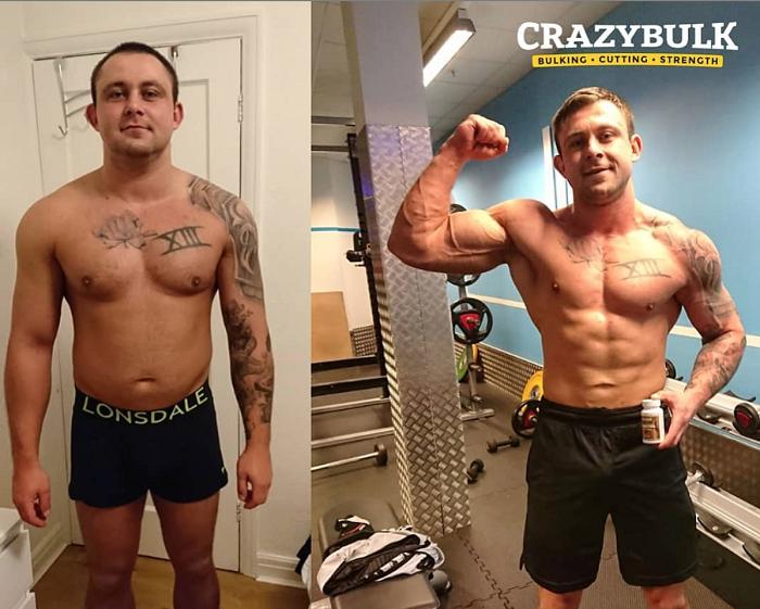 crazy bulk cutting stack results