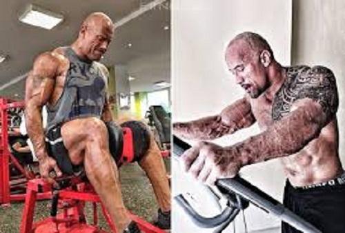 Dwayne Johnson Exercise
