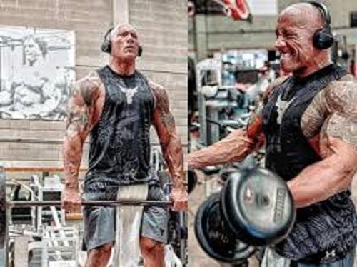 Dwayne Johnson Workout