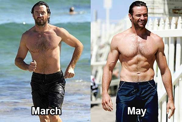 Hugh Jackman Transformation