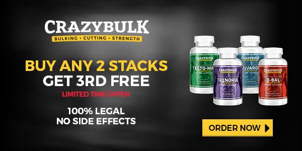 Buy Crazy Bulk Legal Steroids