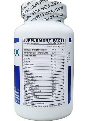 semenax-ingredients