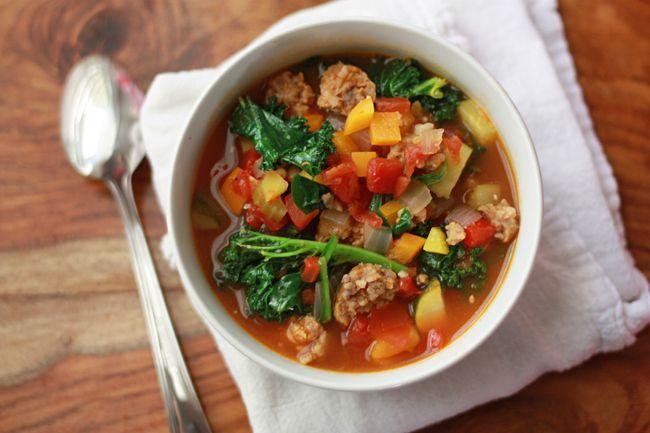 Vegetable Paleo Soup
