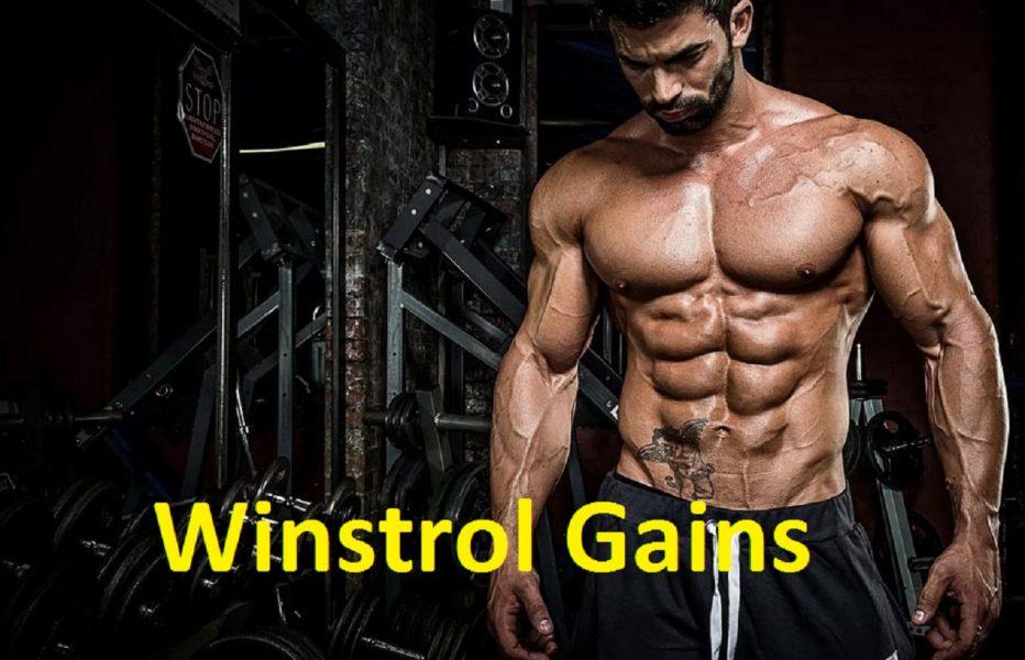 Winstrol Gains
