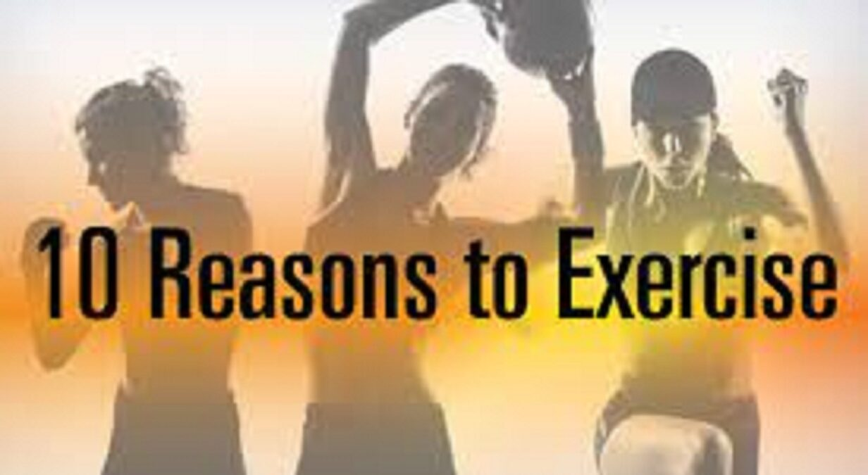 Top 10 Reasons to Exercise