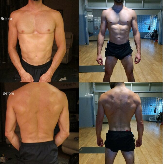 Before And After Anabol Only Cycle