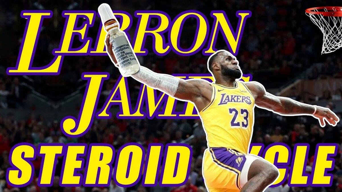 LeBron James Steroids