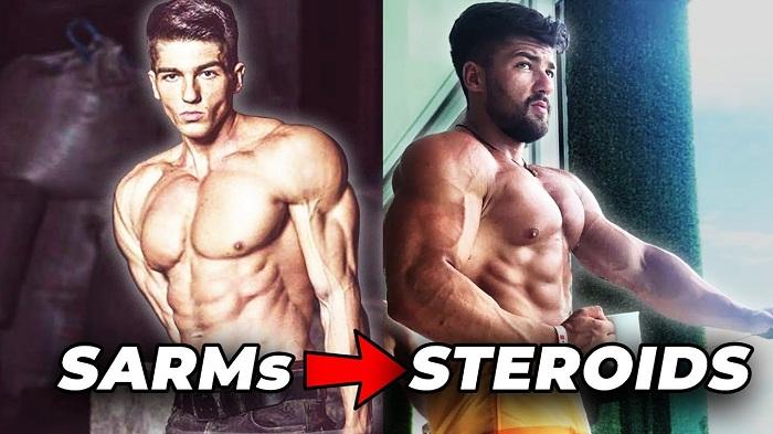 SARMs vs Steroids Results